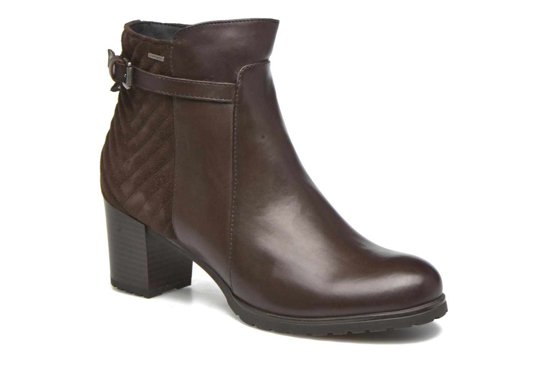 Bottines et boots Geox D LISE ABX A D64D1A Marron vue détail/paire