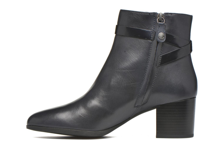 Ankle boots Geox D PETALUS C D642ZC Blue front view