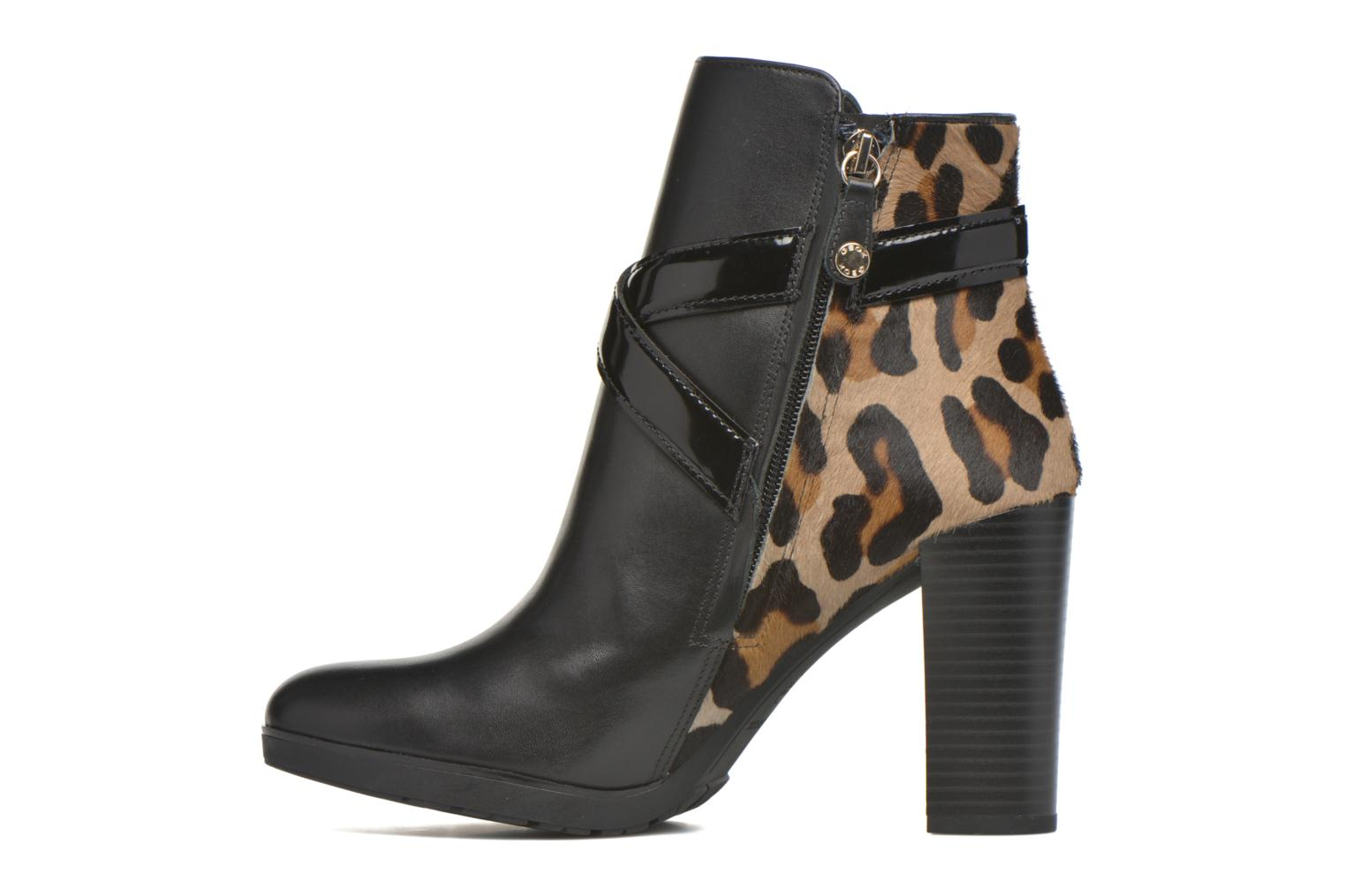 Ankle boots Geox D RAPHAL E D643AE Black front view
