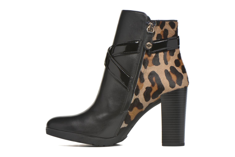 Bottines et boots Geox D RAPHAL E D643AE Noir vue face