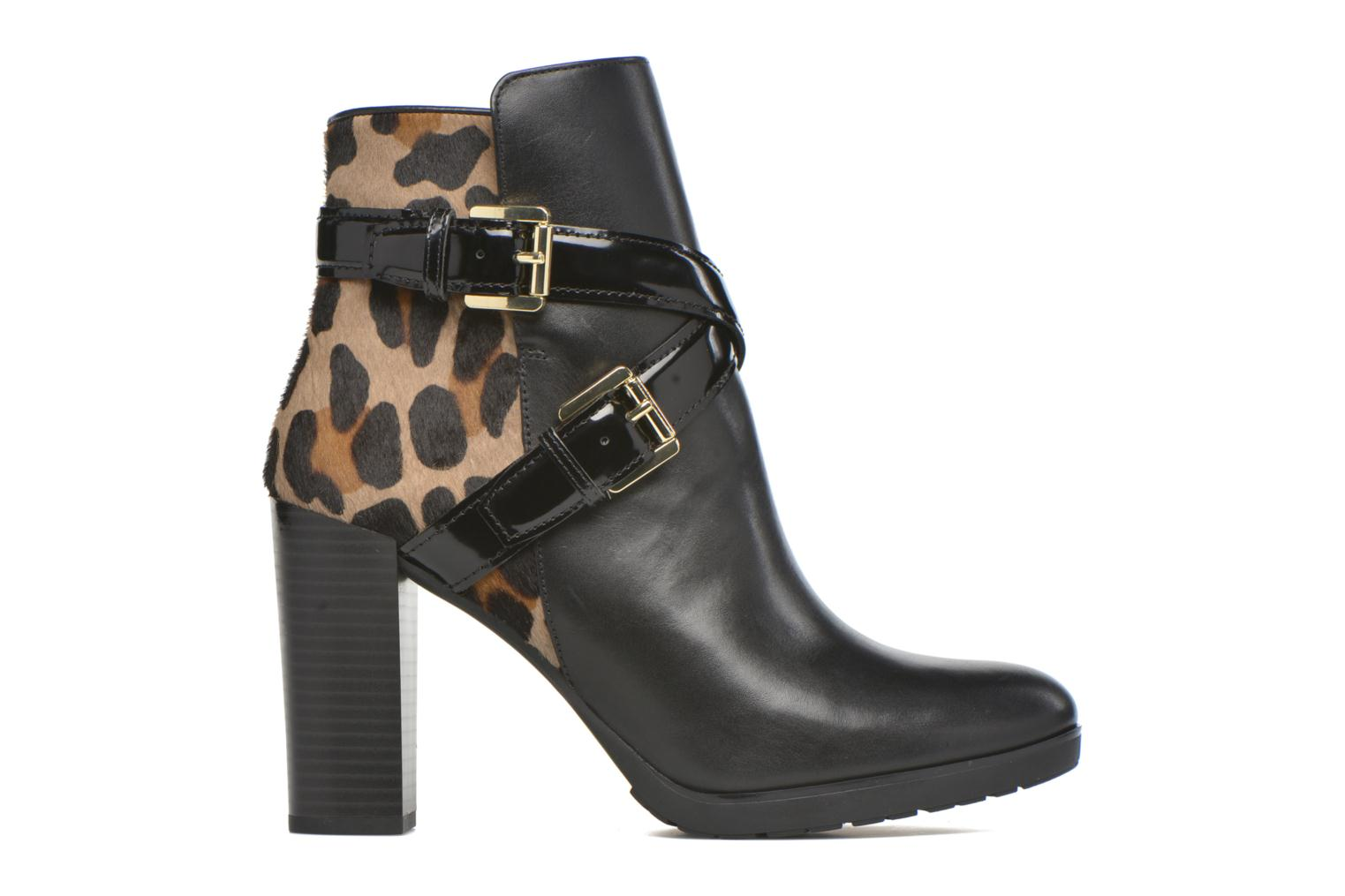 Ankle boots Geox D RAPHAL E D643AE Black back view