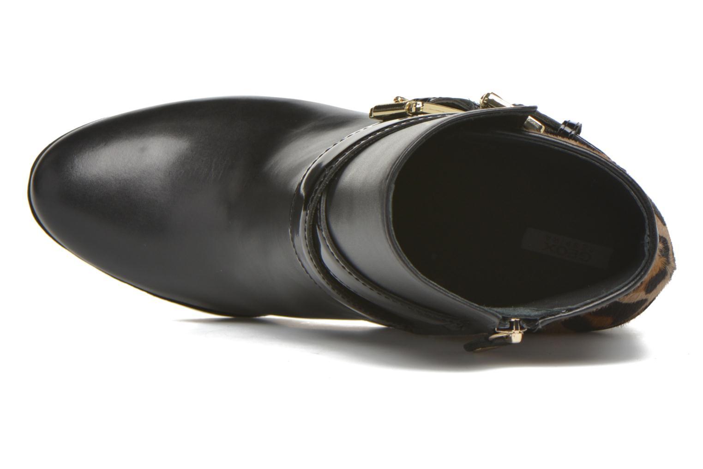 Bottines et boots Geox D RAPHAL E D643AE Noir vue gauche