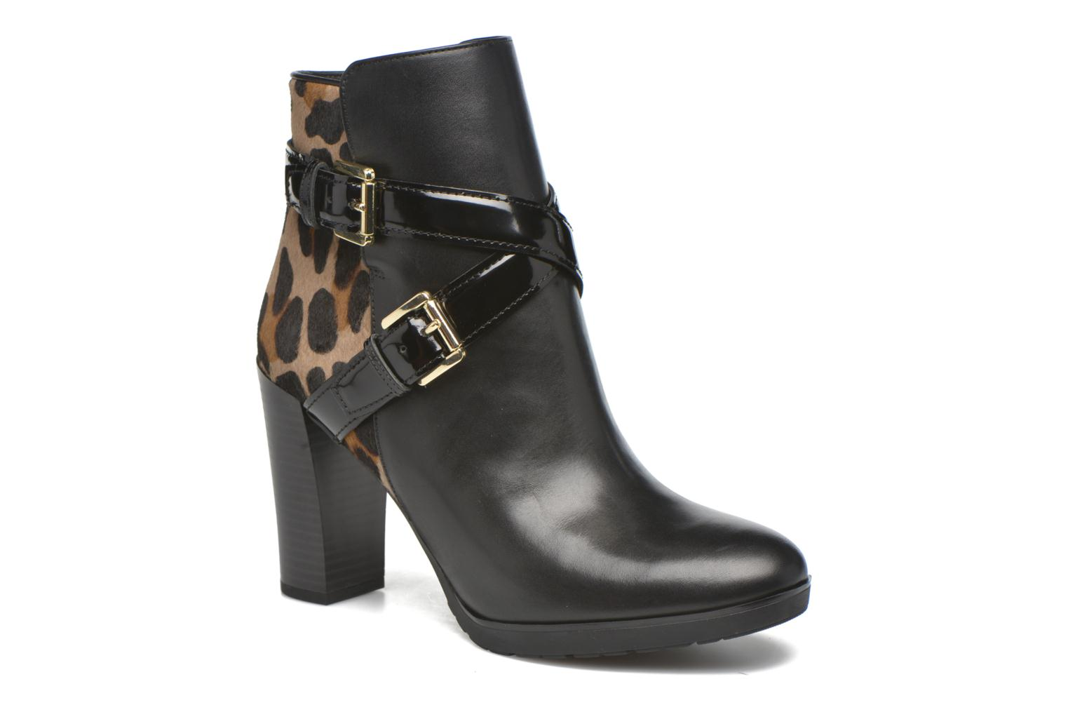 Ankle boots Geox D RAPHAL E D643AE Black detailed view/ Pair view