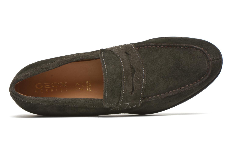 Loafers Geox U BESMINGTON G U641XG Grå bild från vänster sidan