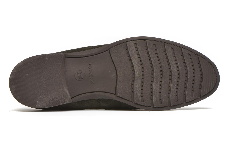 Loafers Geox U BESMINGTON G U641XG Grå bild från ovan
