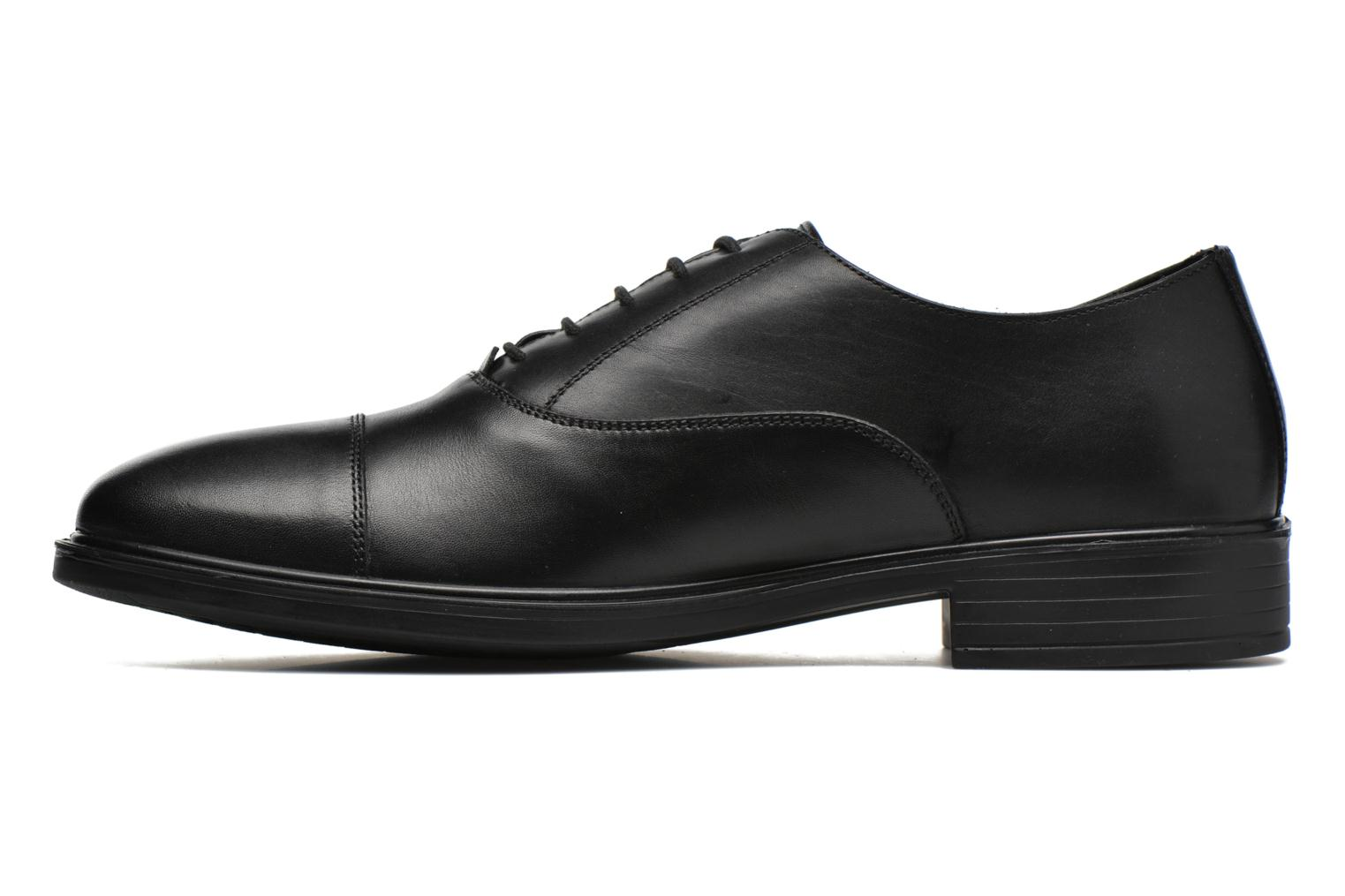 Lace-up shoes Geox U LORIS A ABX B U64C6B Black front view
