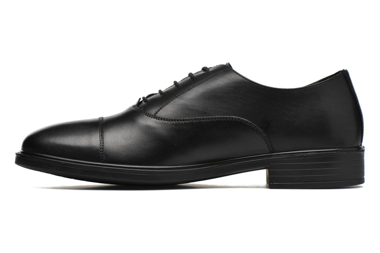 Chaussures à lacets Geox U LORIS A ABX B U64C6B Noir vue face