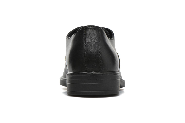 Chaussures à lacets Geox U LORIS A ABX B U64C6B Noir vue droite