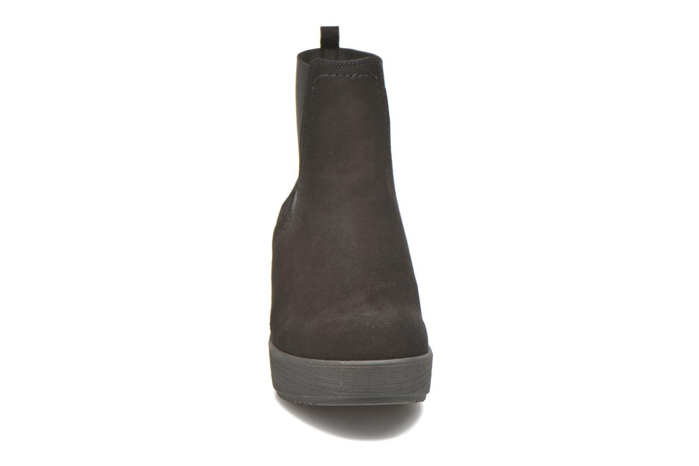 Bottines et boots Unisa Fara Noir vue portées chaussures