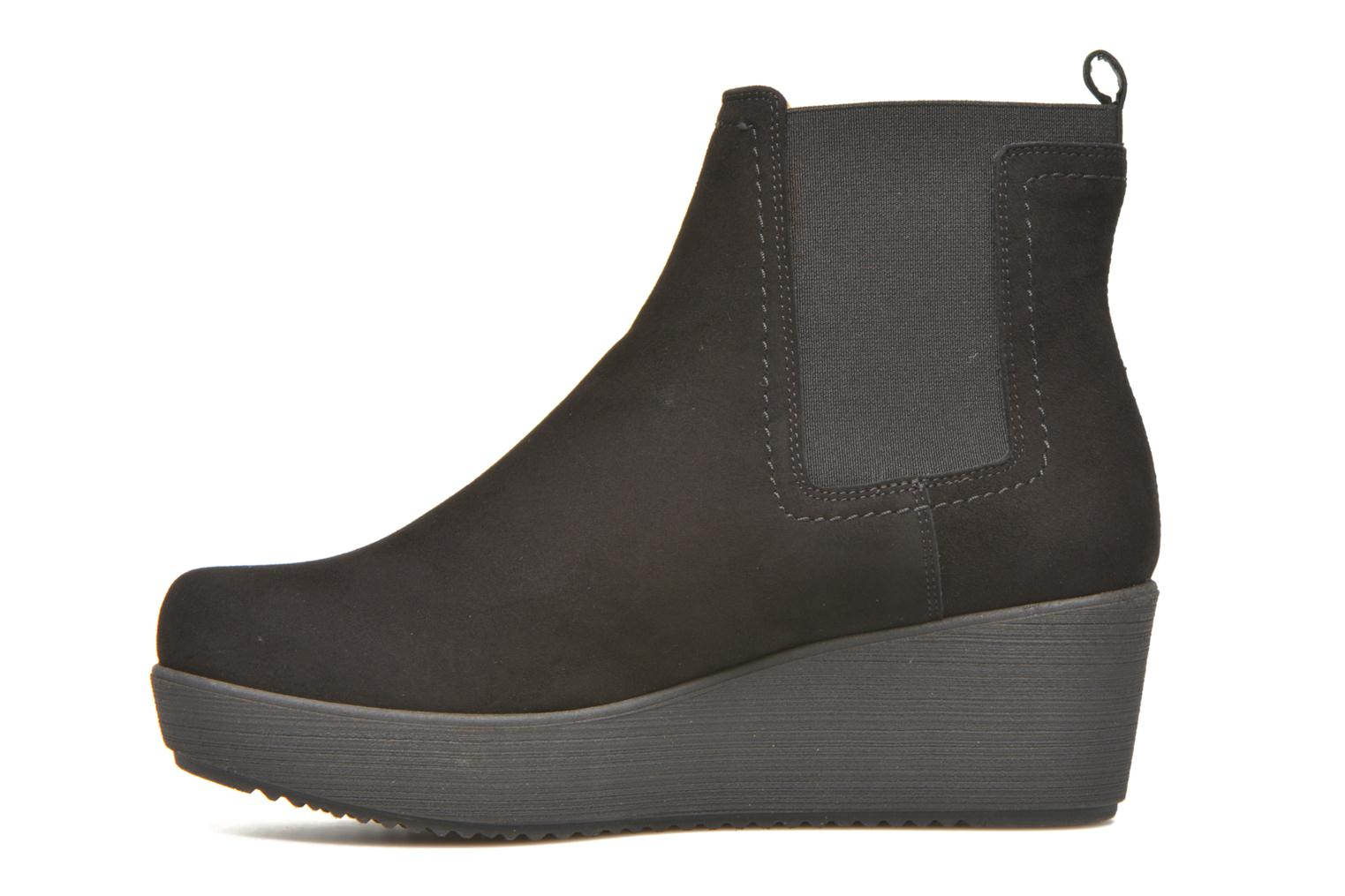 Ankle boots Unisa Fara Black front view