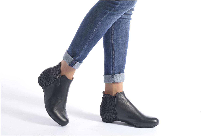 Stiefeletten & Boots Unisa Africo schwarz ansicht von unten / tasche getragen