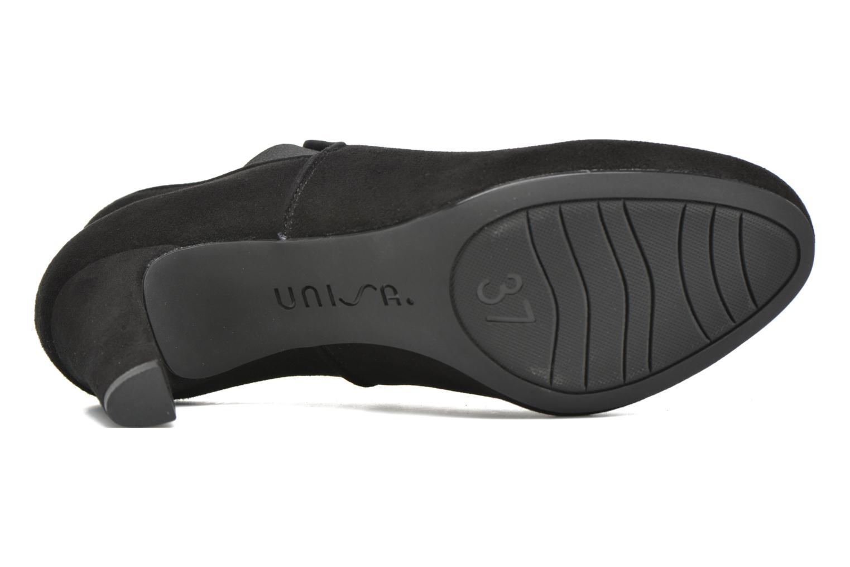 Stiefeletten & Boots Unisa Nepu schwarz ansicht von oben
