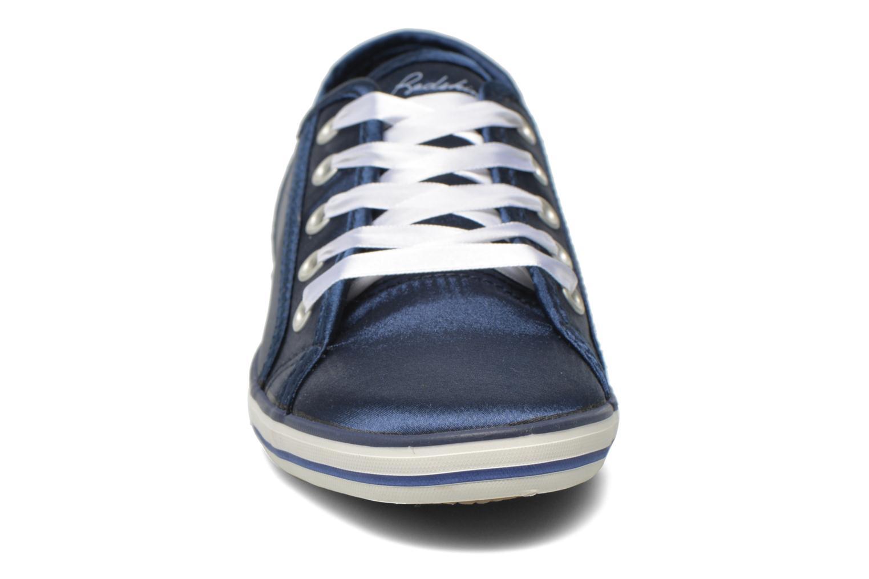 Sneakers Redskins Glosskid Azzurro modello indossato