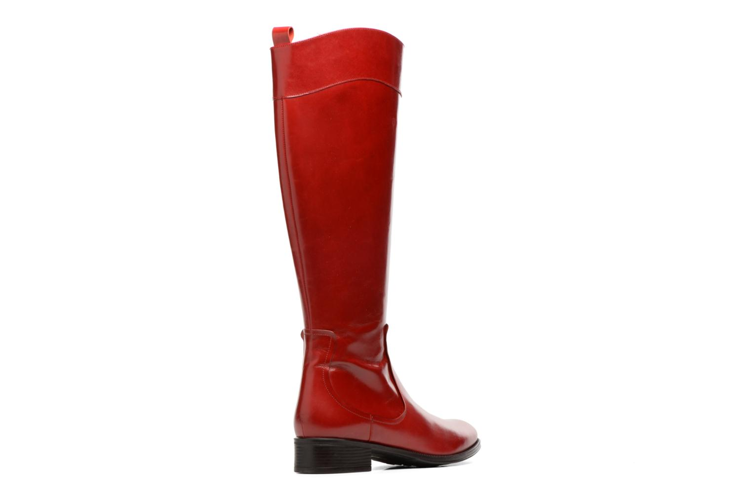 Bottes Made by SARENZA Boots Camp #15 Rouge vue face