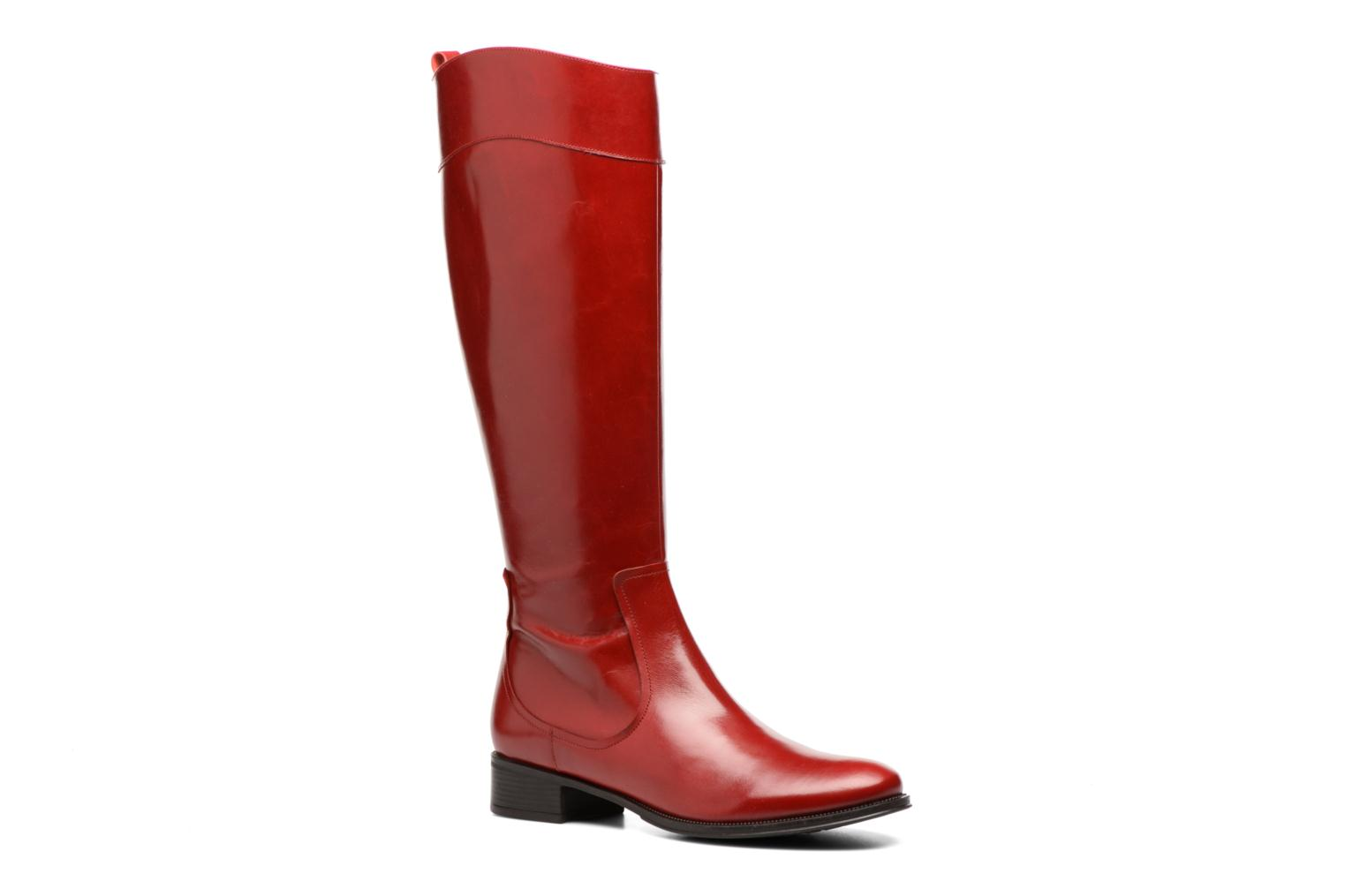 Bottes Made by SARENZA Boots Camp #15 Rouge vue droite
