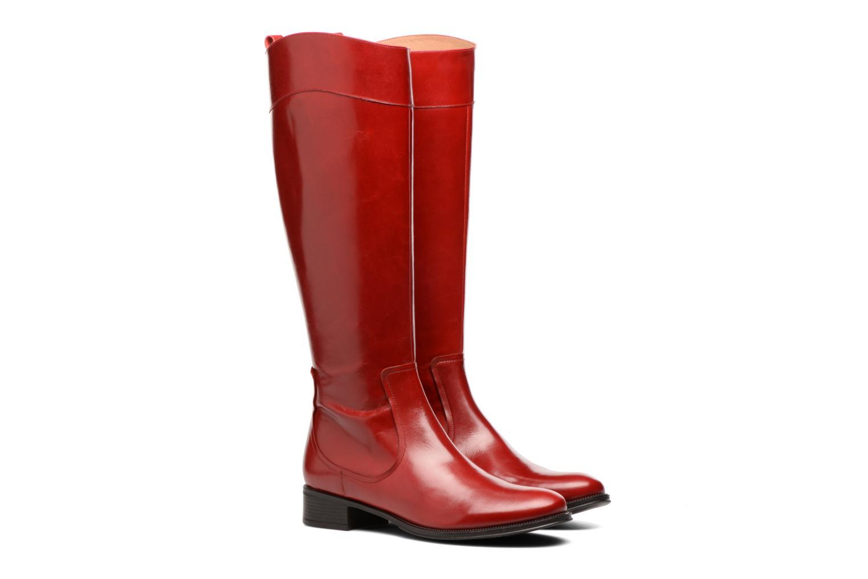 Stivali Made by SARENZA Boots Camp #15 Rosso immagine posteriore