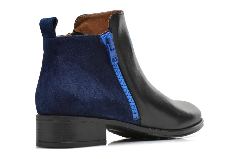 Bottines et boots Made by SARENZA West Mister #5 Noir vue face