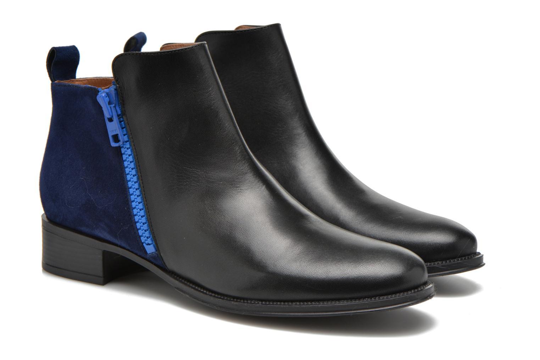 Bottines et boots Made by SARENZA West Mister #5 Noir vue derrière