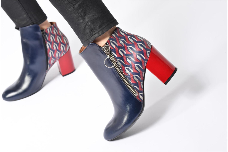 Bottines et boots Made by SARENZA Winter Ski #1 Noir vue bas / vue portée sac