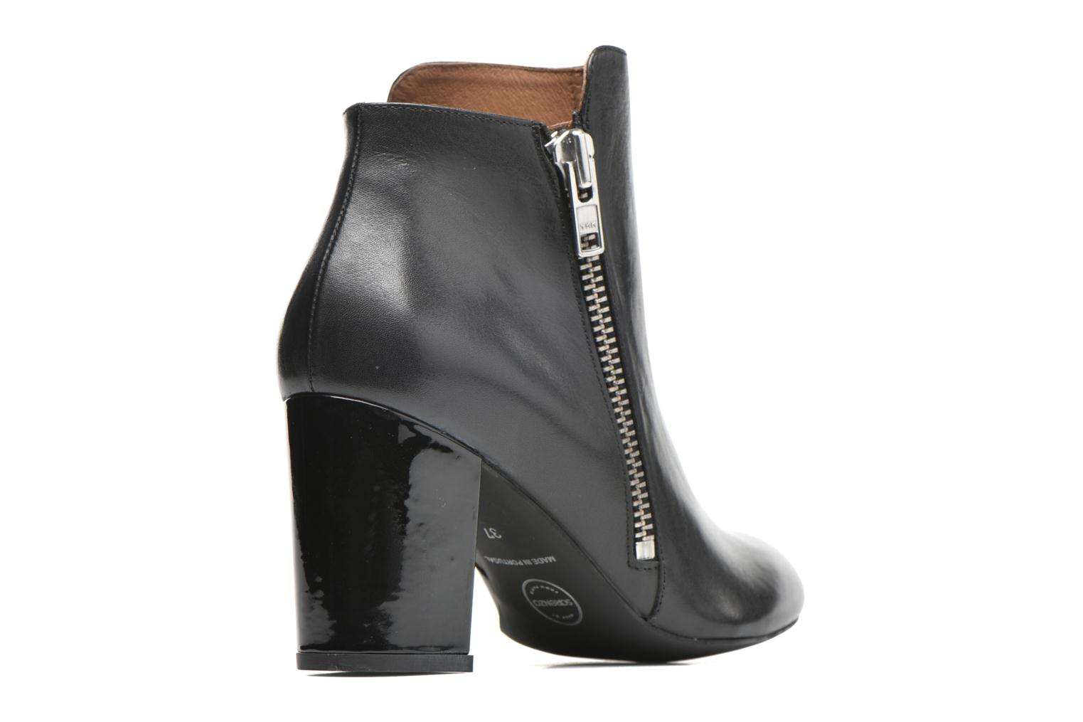 Ankle boots Made by SARENZA Winter Ski #1 Black front view