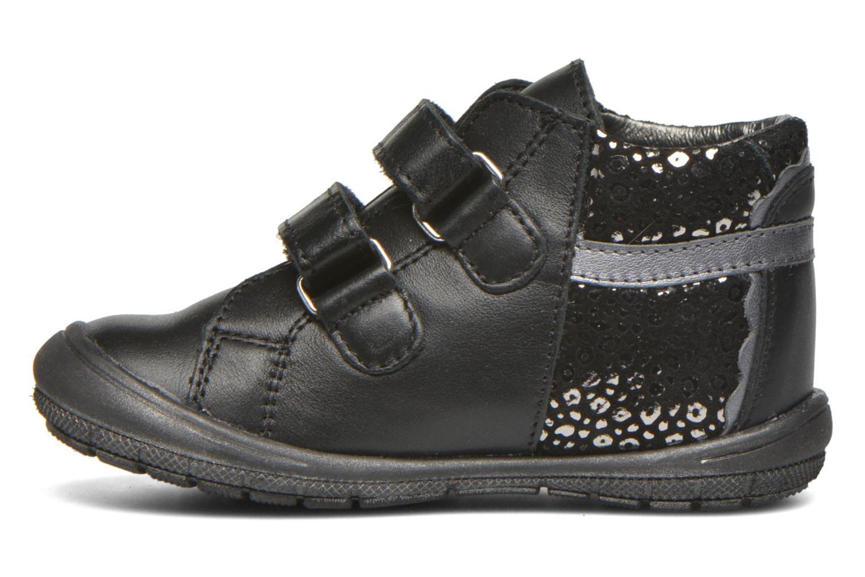 Velcro shoes Bopy Bijovel Black front view