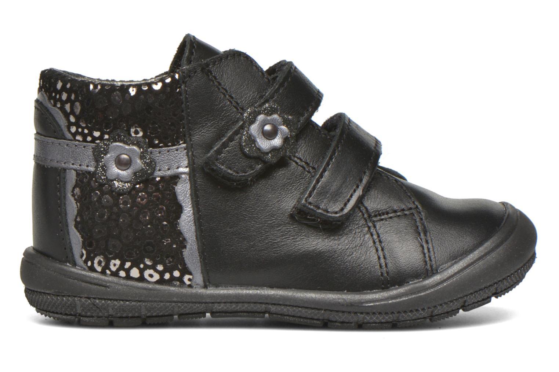 Velcro shoes Bopy Bijovel Black back view