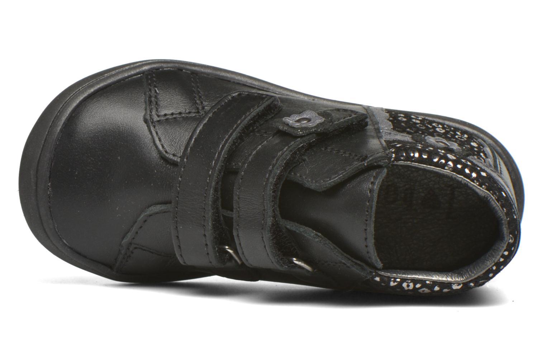Velcro shoes Bopy Bijovel Black view from the left