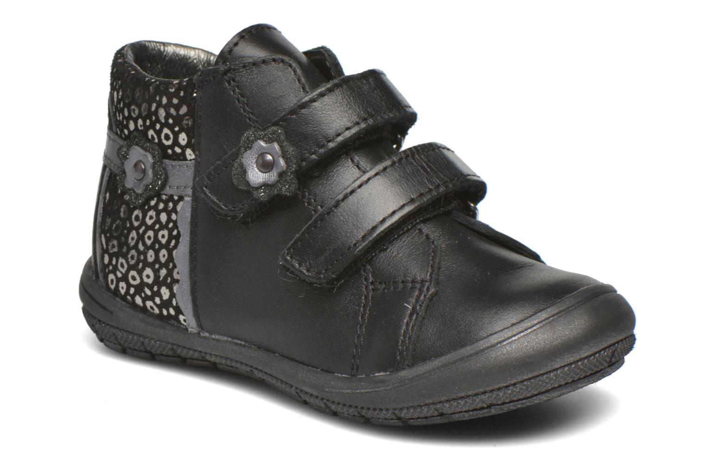 Velcro shoes Bopy Bijovel Black detailed view/ Pair view