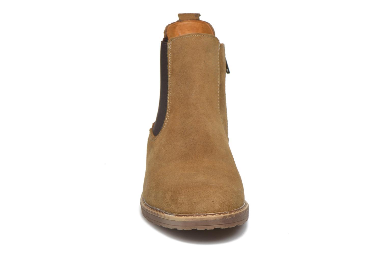 Bottines et boots Bopy Selfy Beige vue portées chaussures