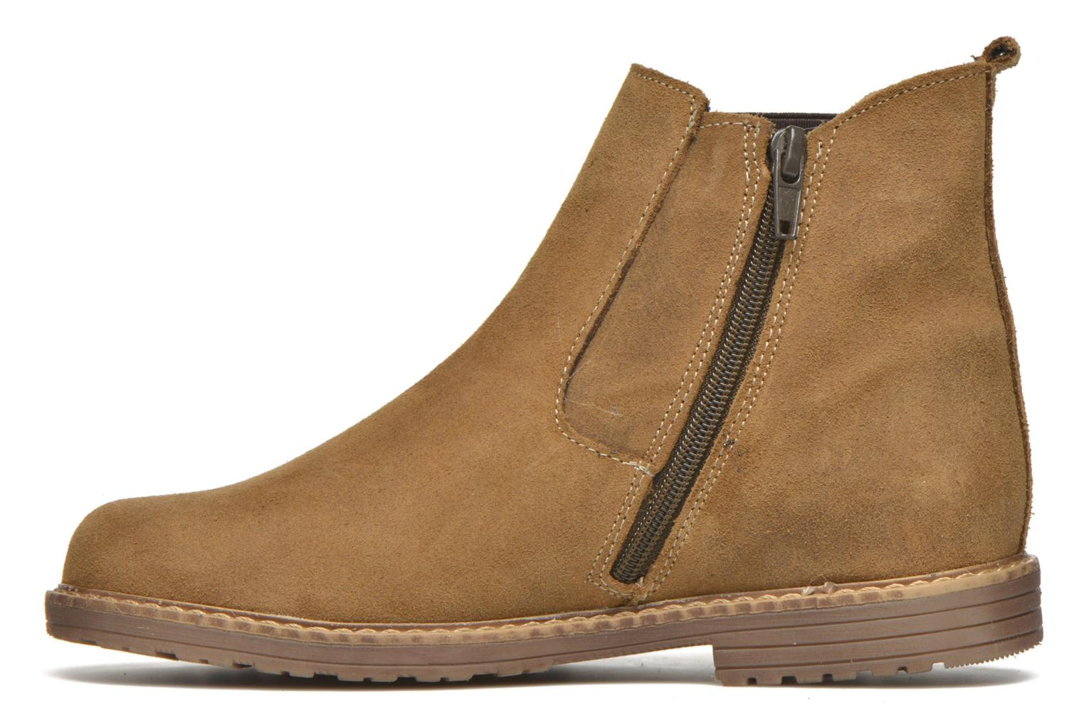 Ankle boots Bopy Selfy Beige front view