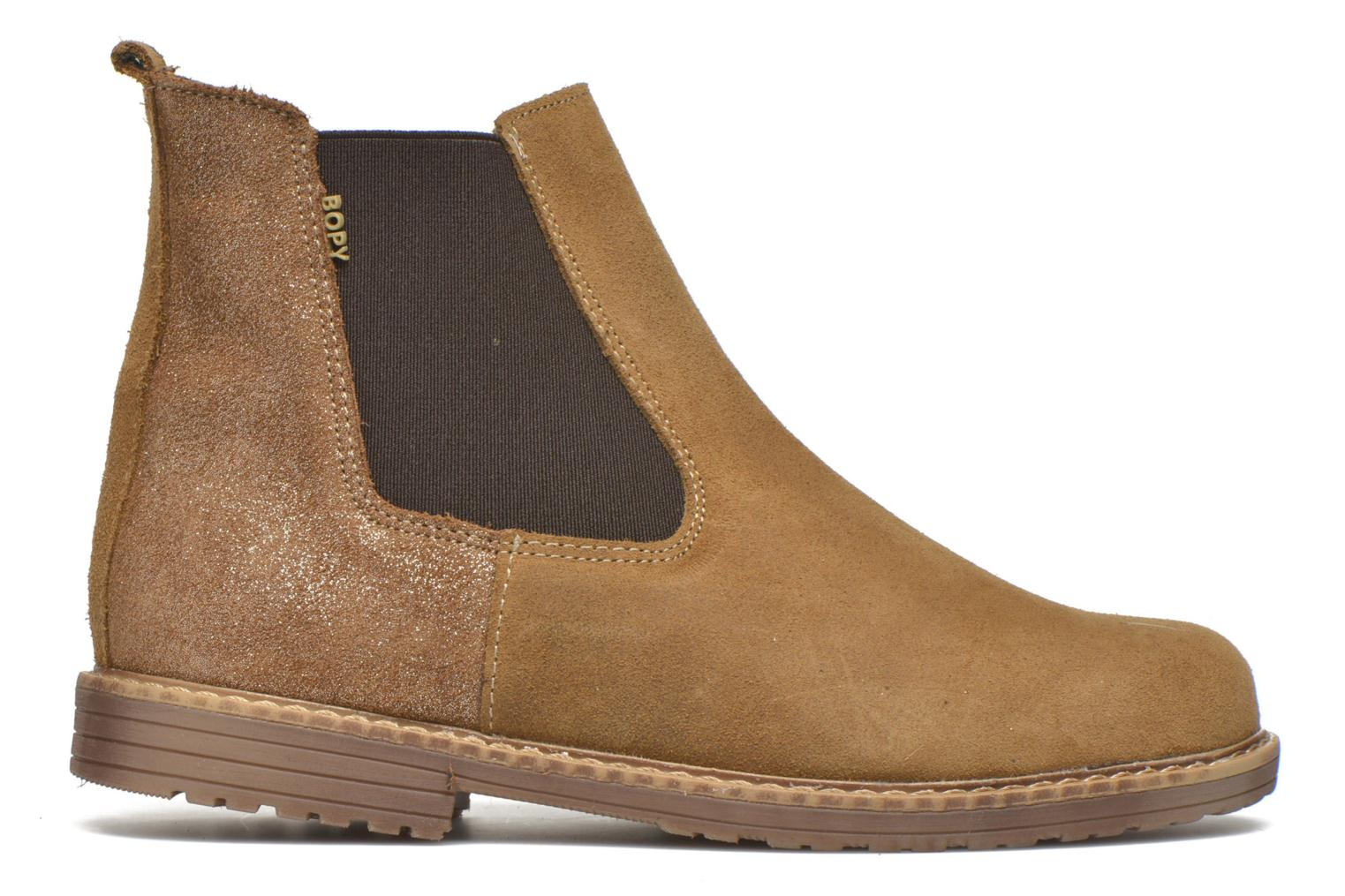 Ankle boots Bopy Selfy Beige back view