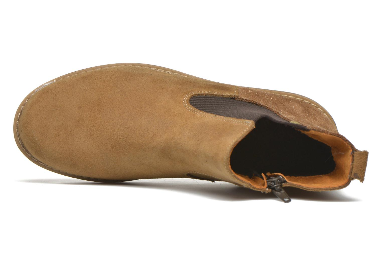 Bottines et boots Bopy Selfy Beige vue gauche
