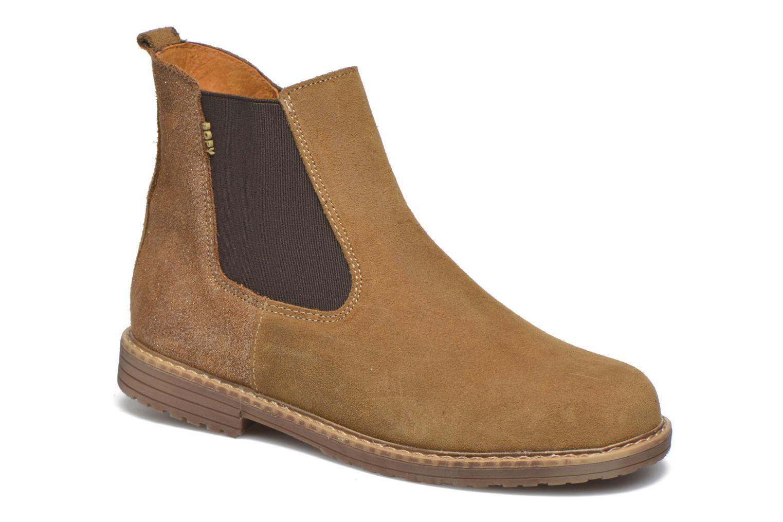 Bottines et boots Bopy Selfy Beige vue détail/paire