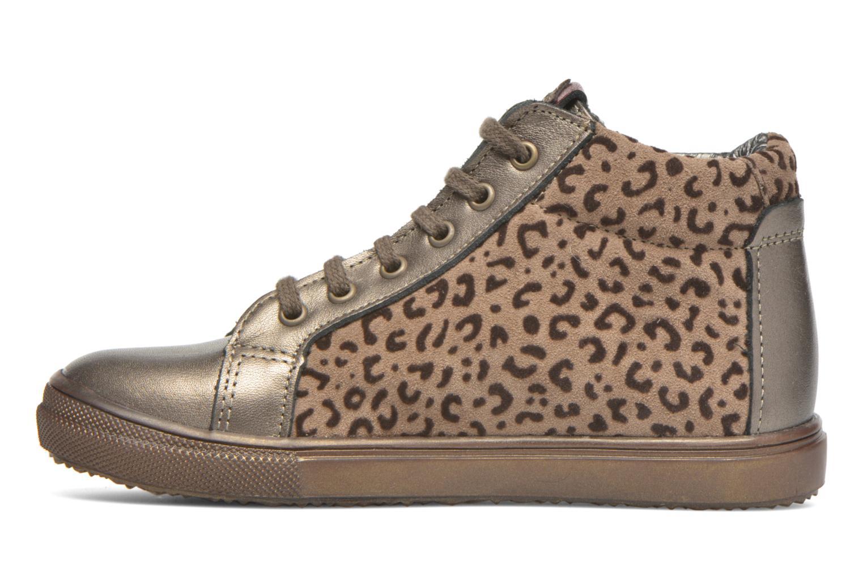 Sneaker Bopy Somimi beige ansicht von vorne