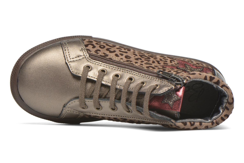 Sneaker Bopy Somimi beige ansicht von links