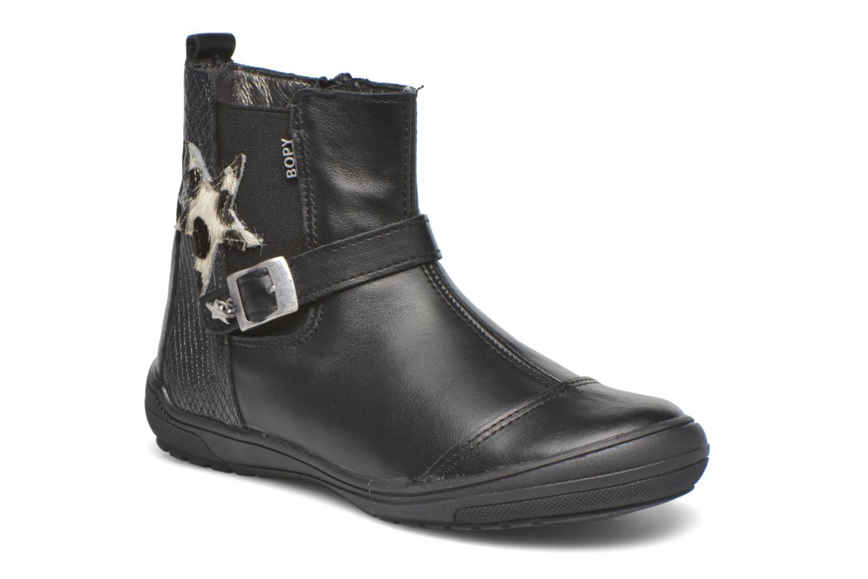 Boots en enkellaarsjes Bopy Starlet2 Zwart detail