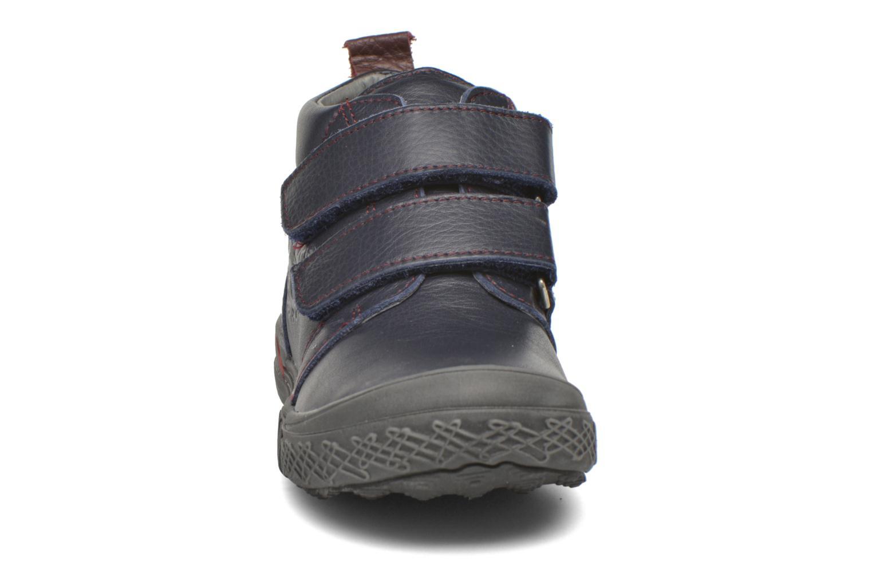 Zapatos con velcro Bopy Vayon Azul vista del modelo