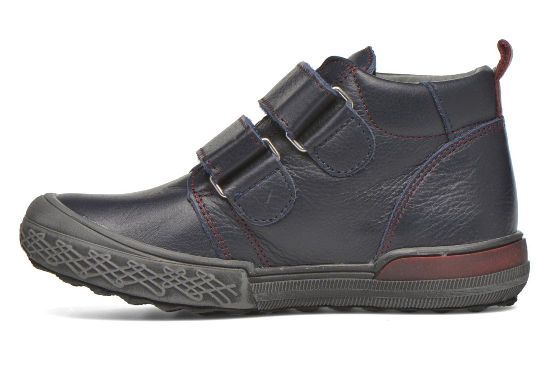 Zapatos con velcro Bopy Vayon Azul vista de frente