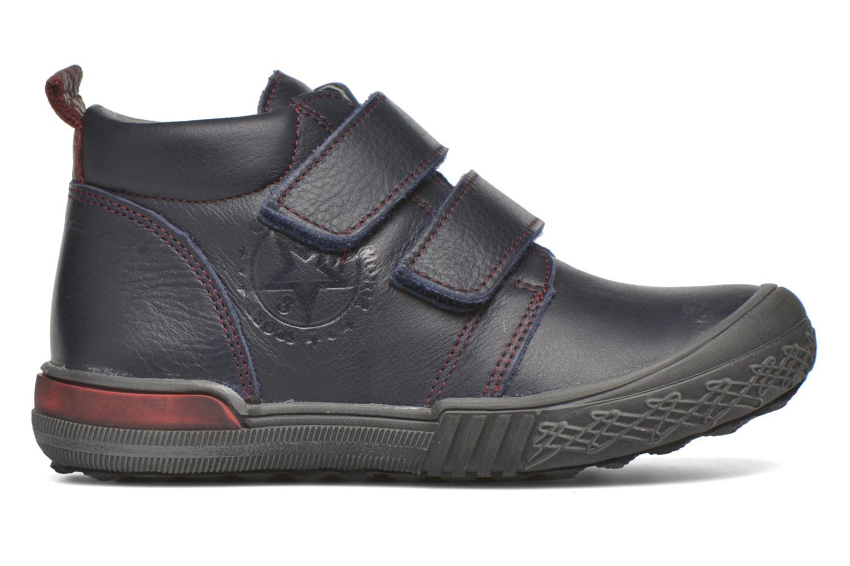 Zapatos con velcro Bopy Vayon Azul vistra trasera