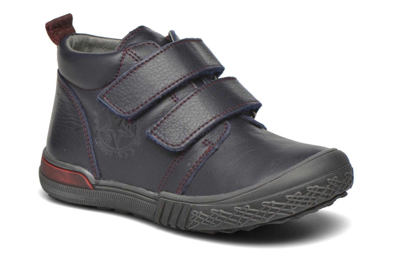 Zapatos con velcro Bopy Vayon Azul vista de detalle / par