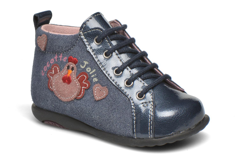 Bottines et boots Bopy Zocotte Bleu vue détail/paire