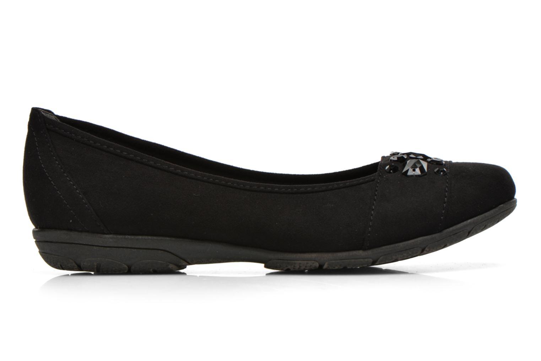 Ballerines Jana shoes Ammi Noir vue derrière