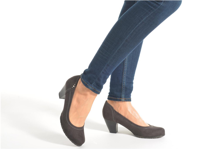Escarpins Jana shoes Jiveo 2 Noir vue bas / vue portée sac