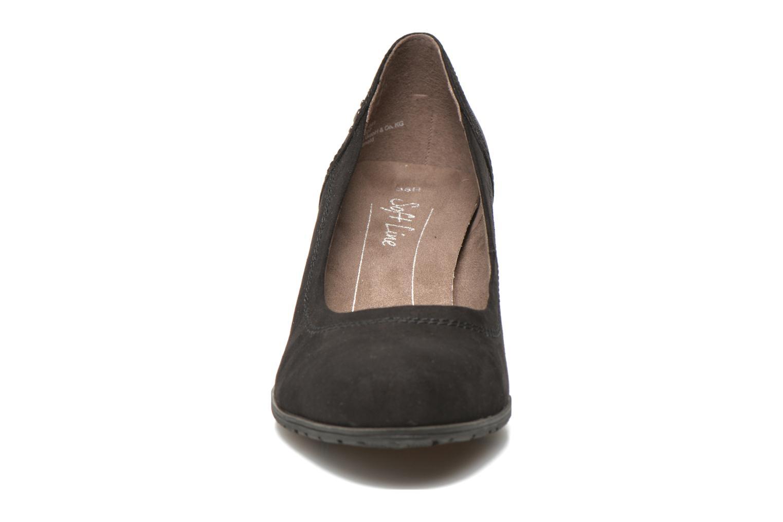 High heels Jana shoes Jiveo 2 Black model view