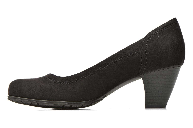 High heels Jana shoes Jiveo 2 Black front view
