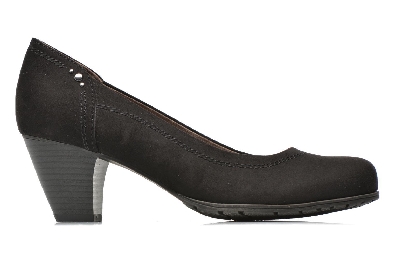 High heels Jana shoes Jiveo 2 Black back view