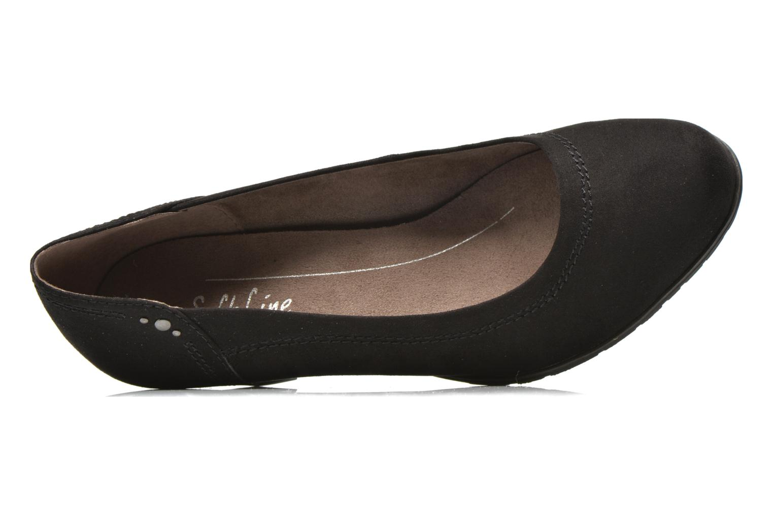 High heels Jana shoes Jiveo 2 Black view from the left
