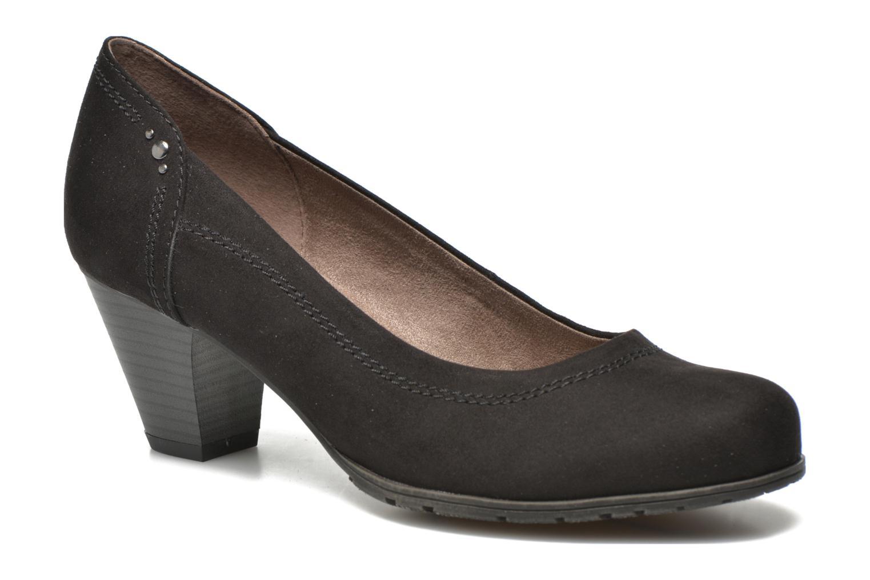 High heels Jana shoes Jiveo 2 Black detailed view/ Pair view
