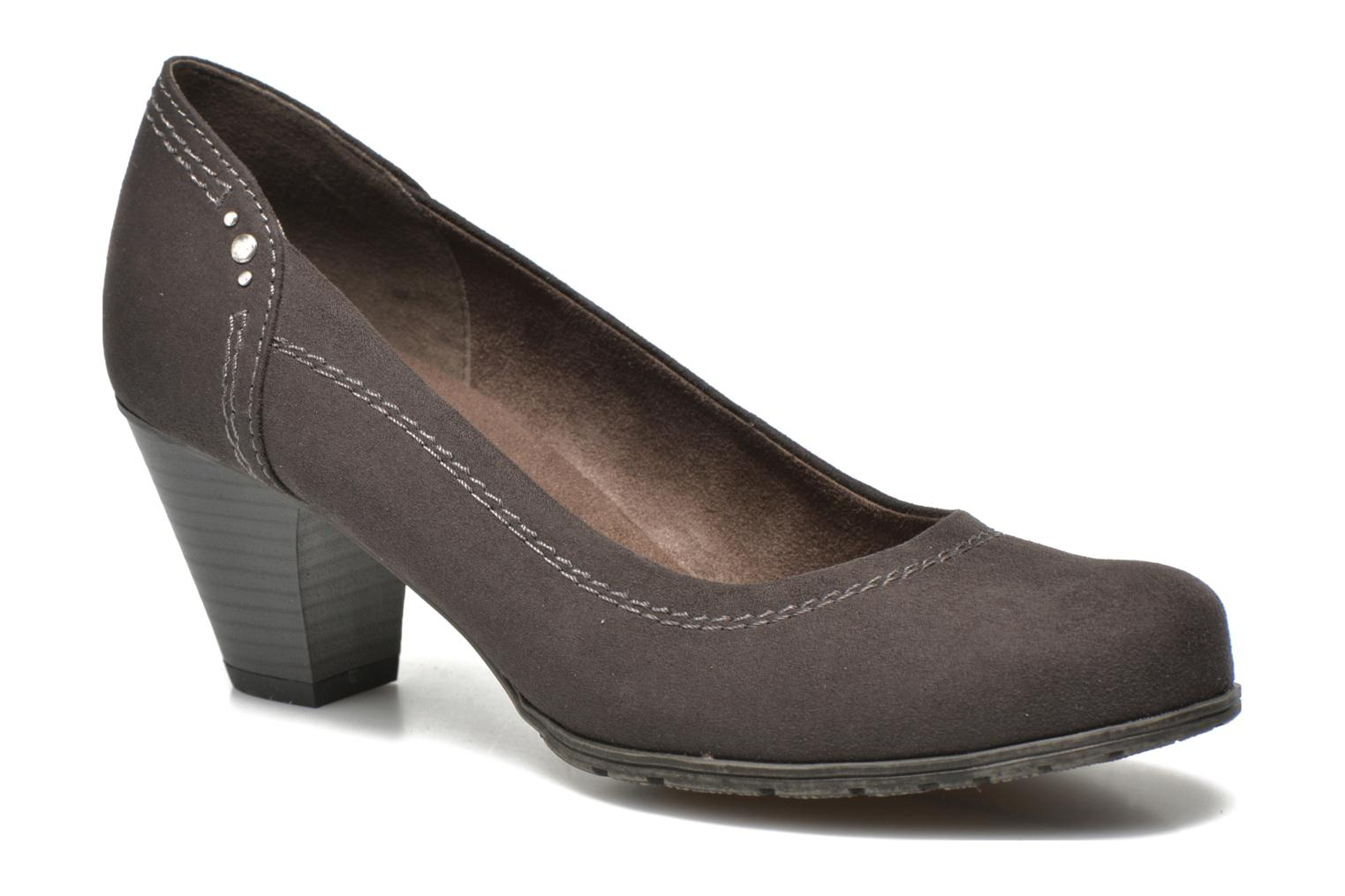 Escarpins Jana shoes Jiveo 2 Marron vue détail/paire