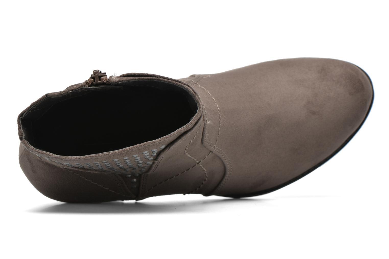 Stiefeletten & Boots Jana shoes Luzerne braun ansicht von links